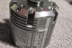 LRP K4 ja X20 moottorit